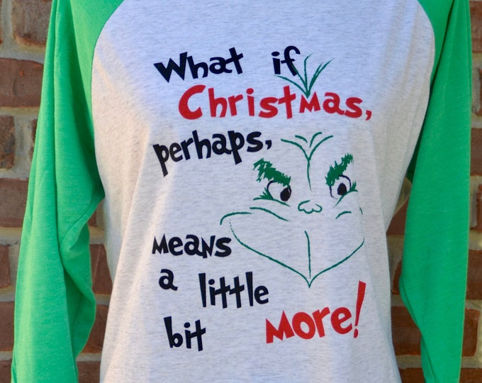 Featured listing image: Grinch tee.