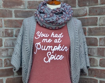 You had me at pumpkin spice.