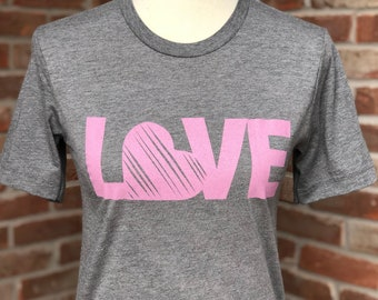 Love graphic tee.