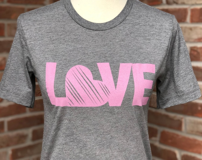 Featured listing image: Love graphic tee.