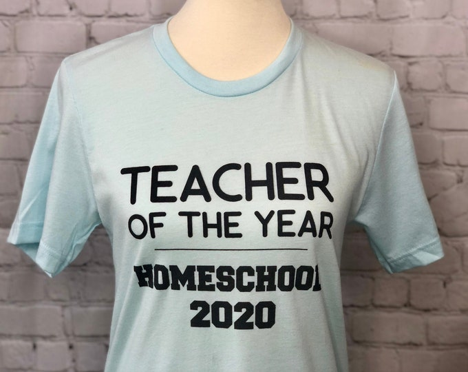Featured listing image: Teacher of the Year Homeschool 2020