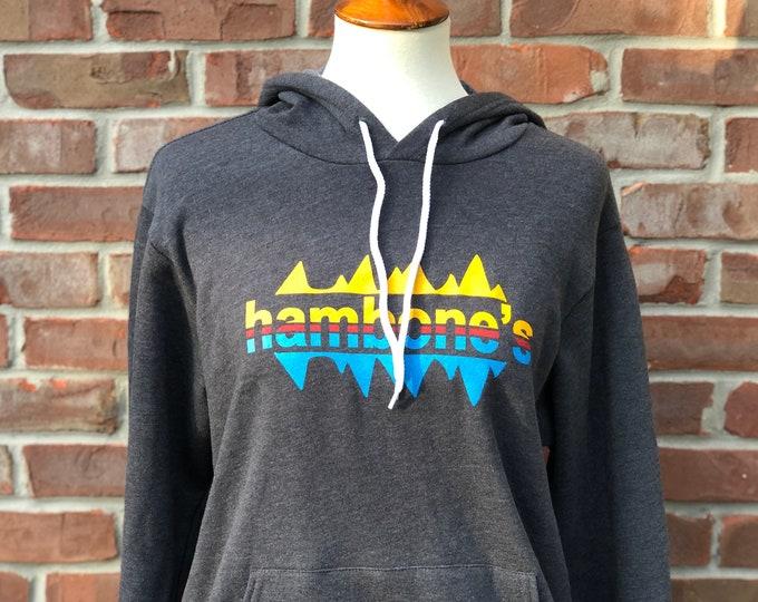 Featured listing image: Hambone's trivia hoodie - dark gray heather