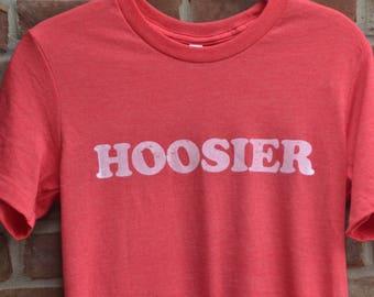 Hoosier tee. Indiana tee. Hoosier state tshirt. Unisex Hoosier shirt.