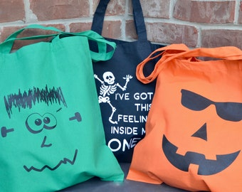 Halloween tote bag.