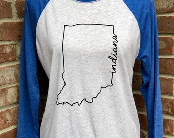 Indiana line art tshirt.