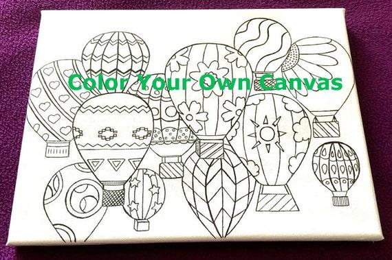 Colorear página lona GRATIS ENVÍO adulto colorear libro | Etsy