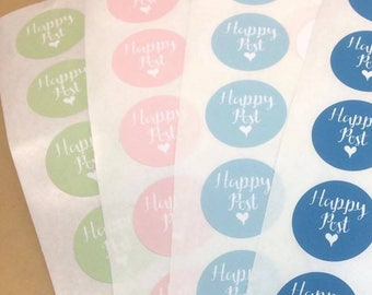 Packaging sticker, 175, mail stickers, packaging labels, happy post sticker, happy mail, envelope stickers, stickers