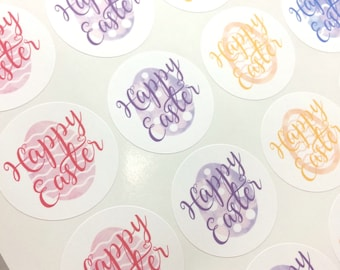 Easter stickers etsy more colours easter stickers negle Image collections