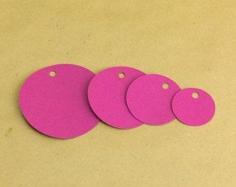 25 circle tags, hang tags, gift tags, price tags, blank tags, product tags, seller supplies,gift tag, circle tag