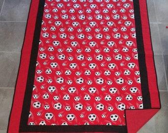 Soccer Quilt, Sport Quilt