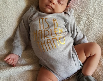 Custom Onesie Its A Harlem Thang - Customize with your childs name