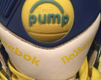 RARE Vintage Reebok The Pump Shoes