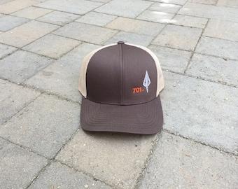 085ad317 Area Code Art - 701 Area Code, Broadhead Arrow, Snapback Trucker Hat, North  Dakota Hunting, Bowhunting Gift, Bowhunting Gear