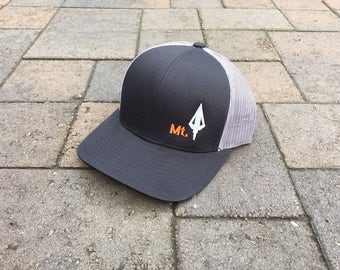 c2d14b5a Area Code Art - Montana Hunting Hat, Broadhead Arrow, Snap-back Trucker Hat,  Bowhunting Gift, Bowhunting Gear, Montana State