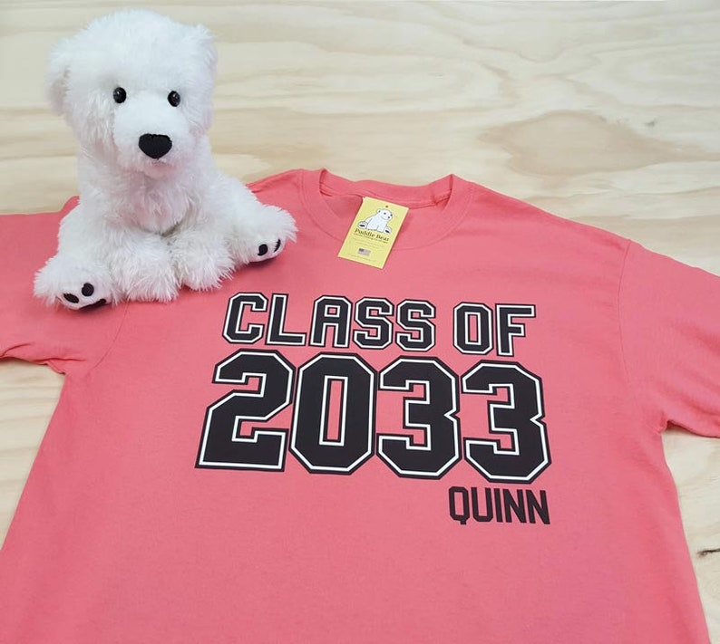 Class of 2031 2032 2033 etc... and Personalized Name for image 0