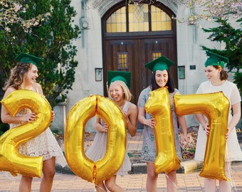 Class of 2020 Balloons / Graduation Party Decorations / 2020 High School Grad Party Decor / College Graduation Party