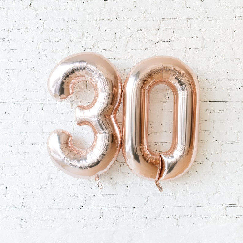 """34/"""" Giant Silver 60th Birthday Foil Number Balloons Helium Large Happy Party 60"""