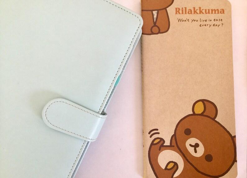 Rilakkuma notebook Block note kraft Rilakkuma 40 pages