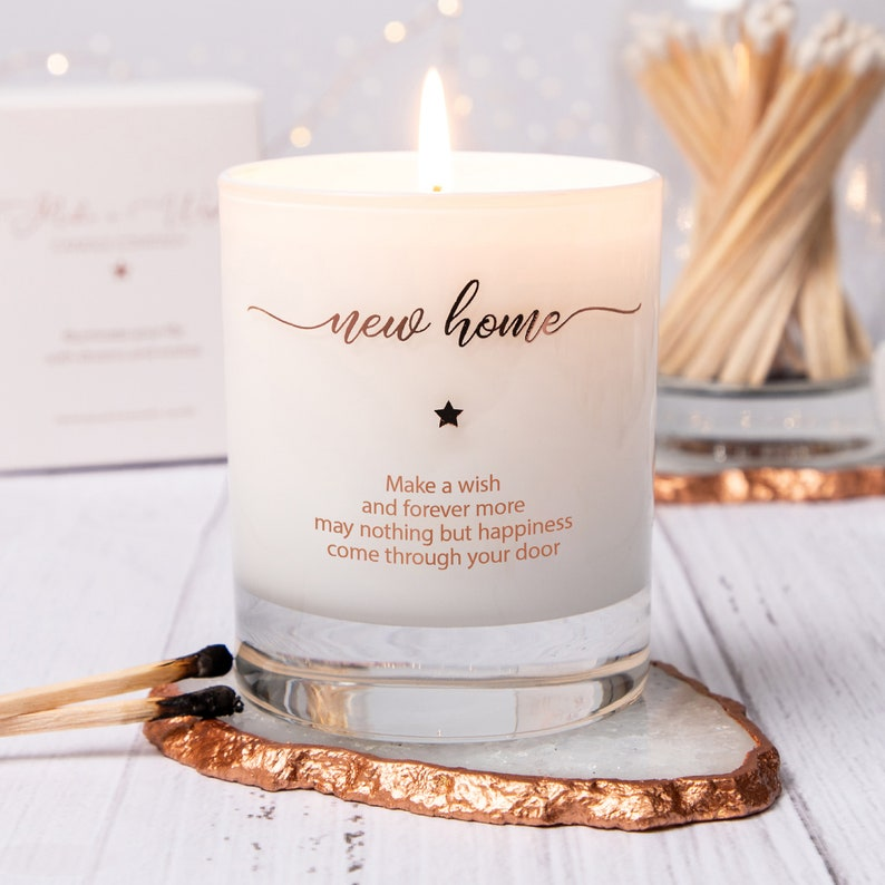 New Home Candle Scented Candle New Home Gift  Housewarming image 0