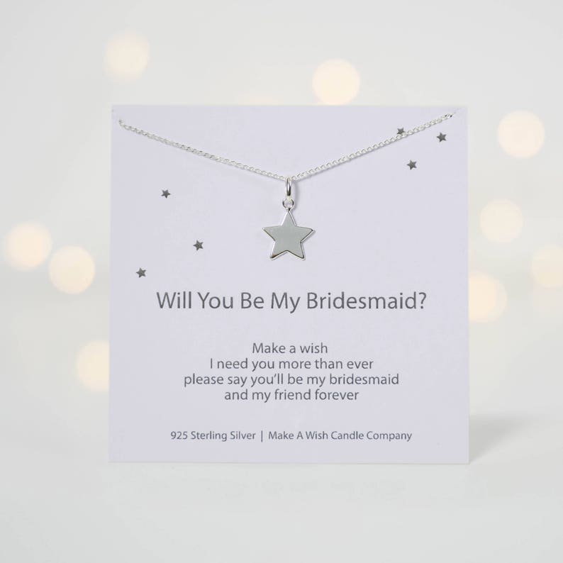 Bridesmaid Necklace Compass Necklace Bridesmaid Proposals Will you be my Bridesmaid gift Bridesmaid Jewelry