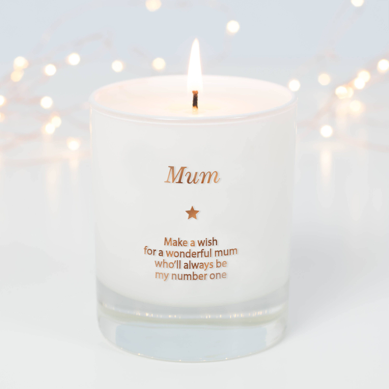 Mum Gift Mothers Day Gift Mum Scented Candle Mum Memorial ...
