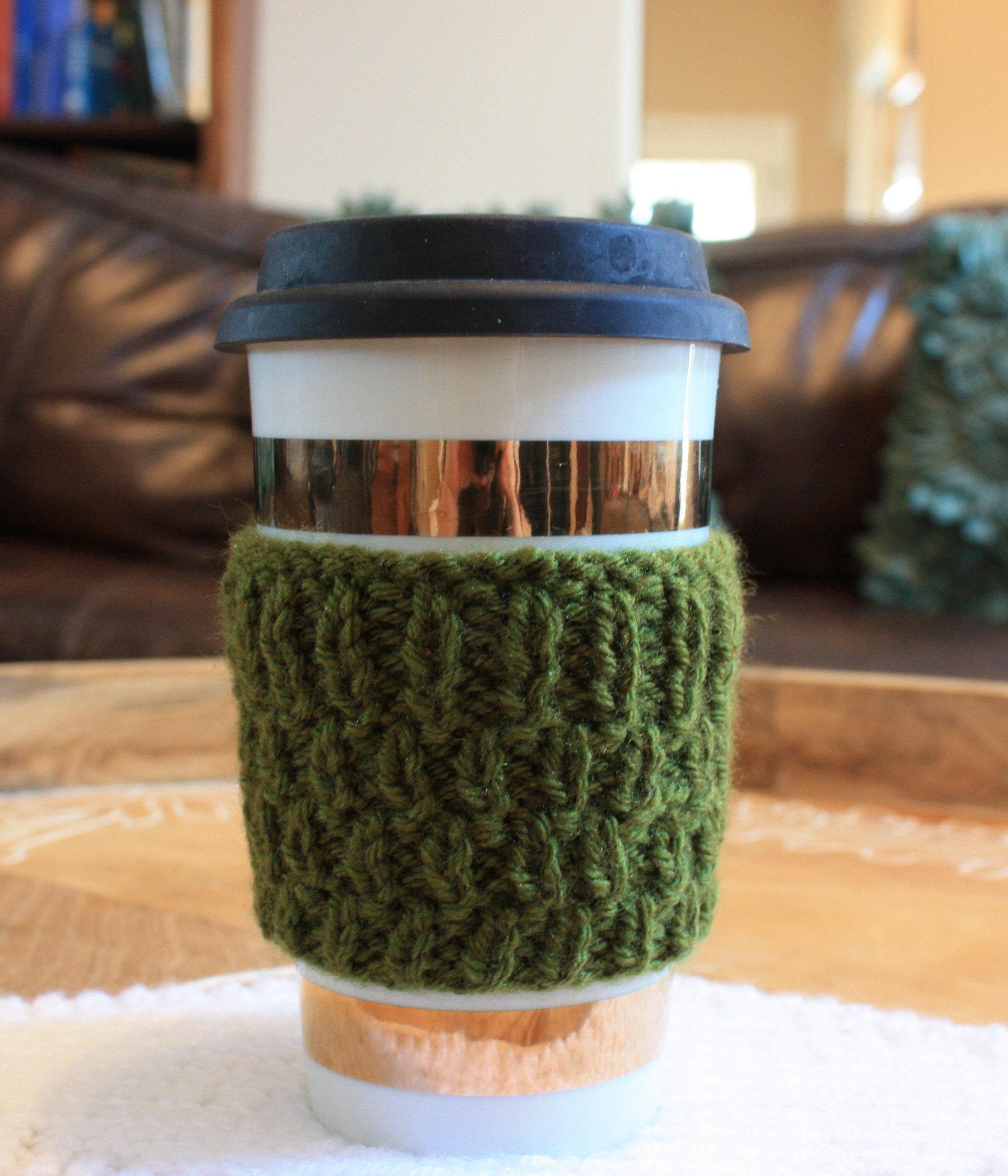 Green Travel Mug Coffee Cozy Starbucks Cozy Tea Cozy Etsy