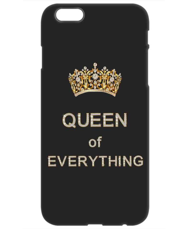 the best attitude fb85a d4c40 Queen of Everything IPhone Case