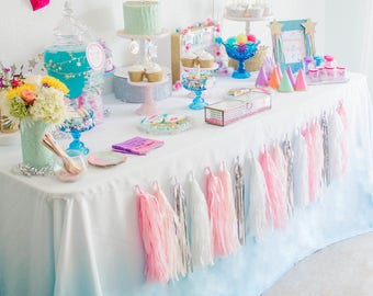ombre tablecloth etsy