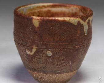 Small 6oz handmade ceramic tea bowl