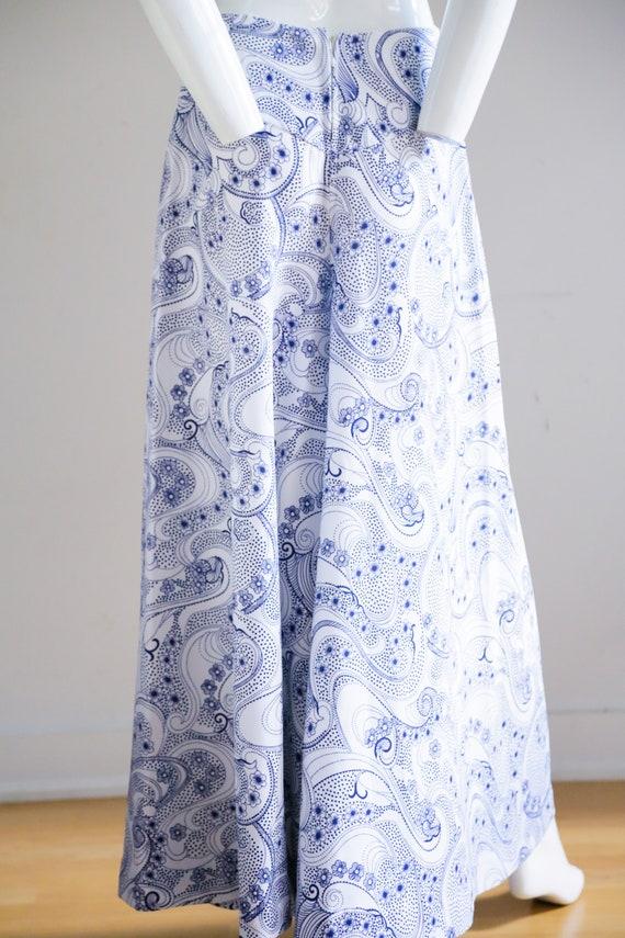 70s Wide Leg Pants | Paisley Print Wide Leg Pants… - image 6