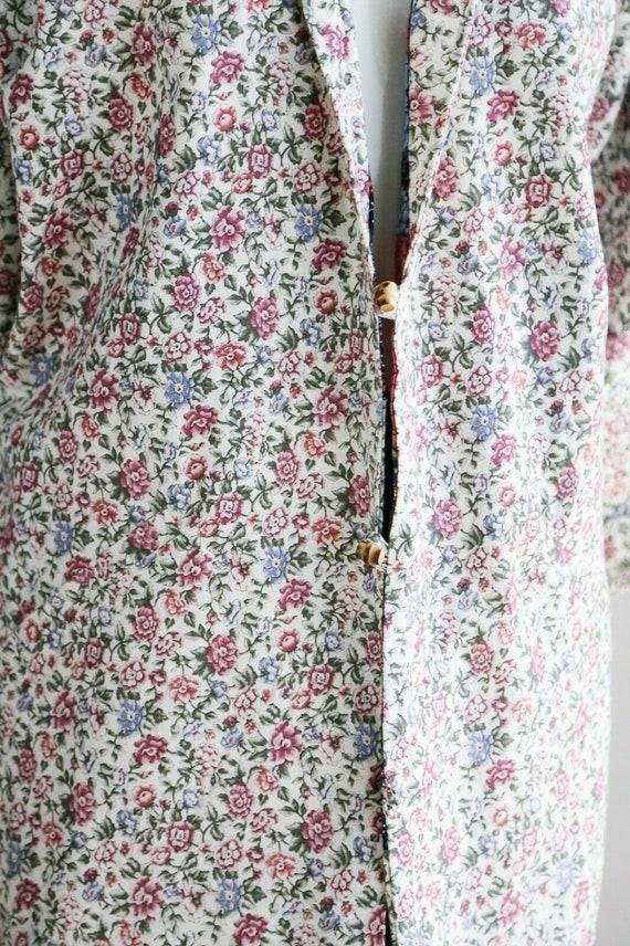 Vintage Cottagecore Patchwork Floral Oversized Re… - image 9