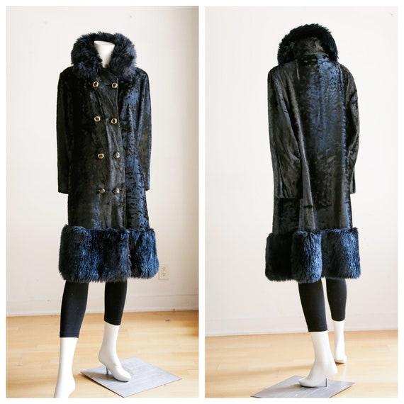 Black Penny Lane Style Coat | Vintage Princess Sty