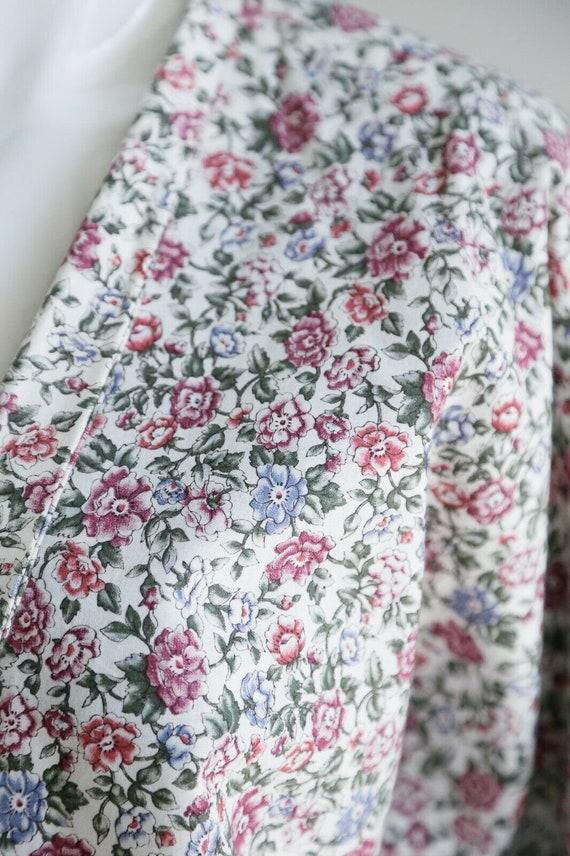 Vintage Cottagecore Patchwork Floral Oversized Re… - image 10