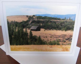 Photo Greeting Card | Handmade Card | Photo Note Card | Original Photography | Barn