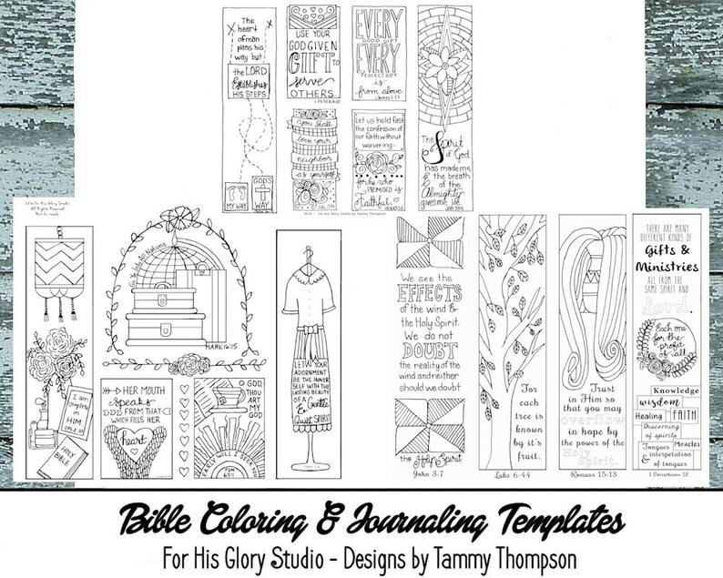 Bible Journaling Bundle #3 - 25% OFF -