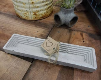 Concrete Desk Organizer And/Or Pen Holder