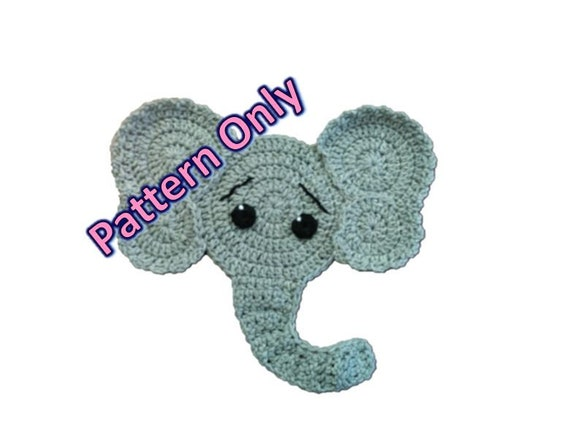 Make this cute tiny lucky elephant with this pdf crochet pattern ...   436x570