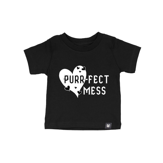 Purrfect Mess- Kids and Baby Graphic T-shirt