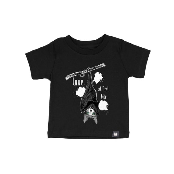 Love at First Bite Graphic Tshirt for Kids and Baby