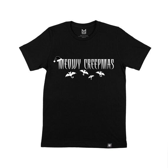 Adult Meowy Creepmas Graphic T-shirt - Unisex