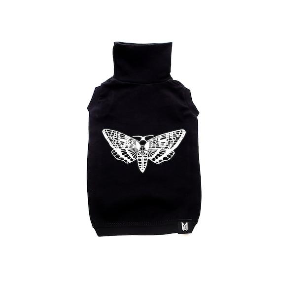 Death's Sphynx Head Moth- Sphynx Turtleneck Cat Shirt Sleeveless