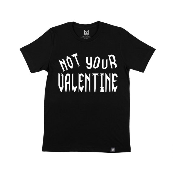 Not Your Valentine Kids Graphic T-shirt