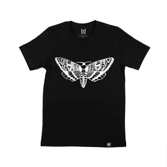 Death's Sphynx Head Moth Graphic T-shirt