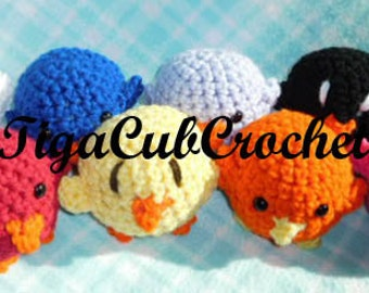 Crochet Mini Bird Animal Cute Amigurumi Plush Made To Order