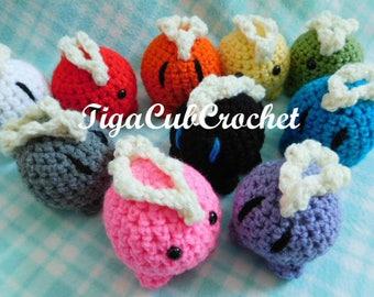 Crochet Mini Stegosaurus Dino Dinosaur Animal Cute Amigurumi Plush Made To Order