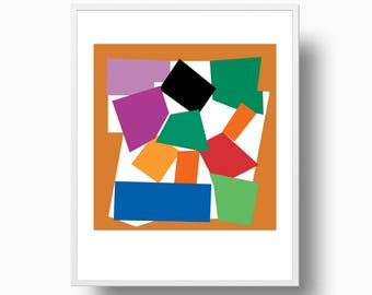 Matisse Abstract Print, Matisse Cutout Print, Matisse Lu0027Escargot Print,  Matisse Modern Wall Art, Matisse Instant Download, Print 312