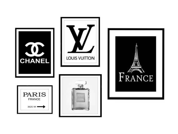 paris chanel logo louis vuitton logo coco chanel chanel etsy