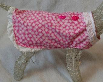 Pink dog dress