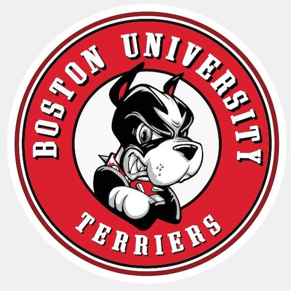 Boston University Terriers Alternate Logo Present Self   Etsy