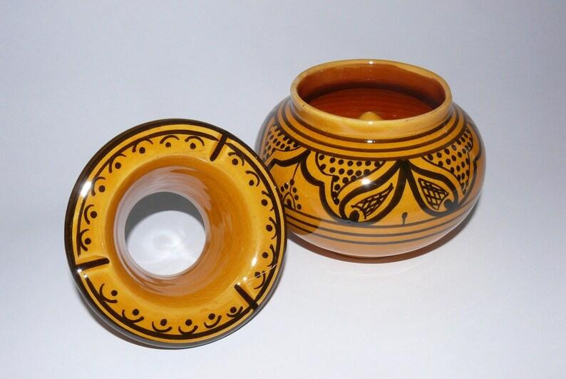 Moroccan ashtray ceramic Ashtrays Orient \u00d8 12 cm 905820-0112